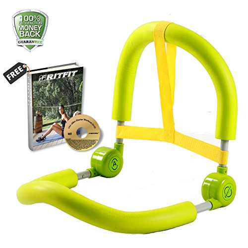 portable-ab-roller-crunch-home-gym-master-thigh-exercise-body-toner-fitness-green