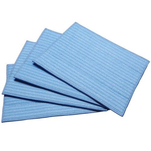 Haan MF4 4-Ultra Microfiber Pads, Blue
