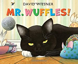 Mr. Wuffles! from Clarion Books