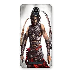 Unicovers Stunt Hunk Back Case Cover for Redmi Note 2