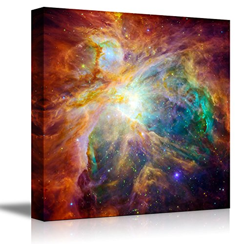 Wall26 Canvas Prints Wall Art - The Cosmic Cloud Orion Nebula - 1,500 Light-Years Away from Earth Beautiful Universe/Outer Space | Modern Wall Decor/ Home Decoration Stretched Gallery Canvas Wrap Giclee Print & Ready to Hang - 24