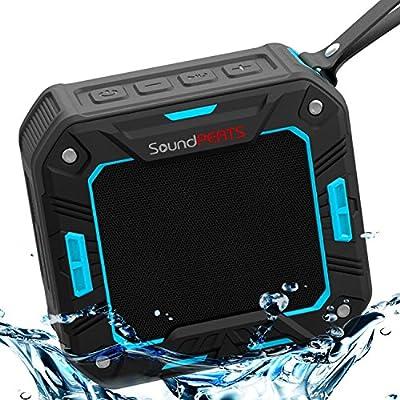 SoundPEATS P2 Wireless Bluetooth Speakers IP65 Rated Waterproof Indoor Outdoor Portable Speaker