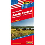 Hallwag USA Road Guide 07 South Central 1 : 1.000.000: Central Plains; Mississippi Valley