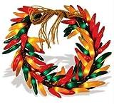 """16"""" Chili Pepper Wreath by Brilliant"""