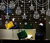 【ELEEJE】クリスマス 全9種類 ウォールステッカー はがせるシール (xm01)