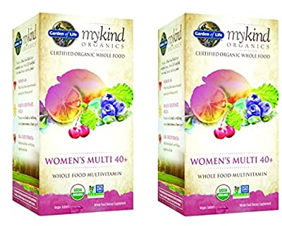 Garden of Life Kind Organics Women's Multi 40 Plus Tablets