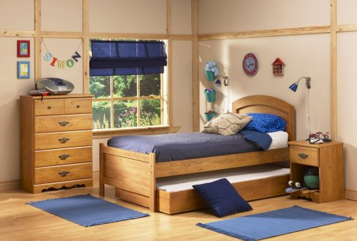 Cheap Kids Bedroom Furniture Set in Country Pine – South Shore Furniture – 3232-BSET-2 (3232-BSET-2)