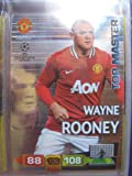 Wayne Rooney Top Master Rare Card Panini Adrenalyn Champions League 2011 / 2012