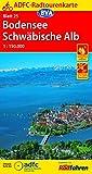 ADFC-Radtourenkarte: Bodensee / Schwäbische Alb