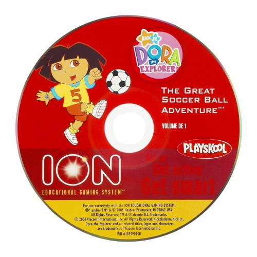 Ion Educational Gaming System Active Learning Disc: Dora the Explorer - The Great Soccer Ball Adventure - 1