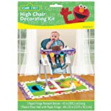 Sesame 1st Birthday High Chair Decoration Kit