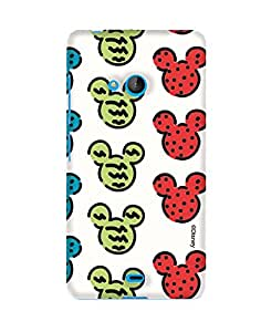 Pick Pattern with Exclusive DISNEY Characters Back Cover for Microsoft Lumia 540