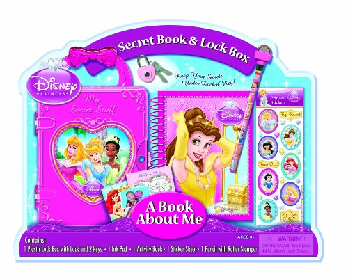 Bendon Disney Princess Lock Box with Diary