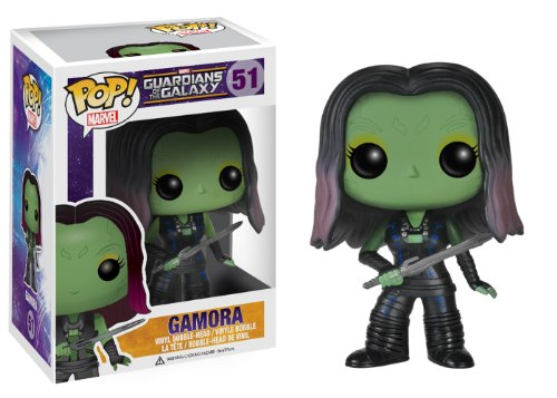 Funko POP Marvel: Guardians of The Galaxy - Gamora Vinyl Bobble-Head Figure - 1
