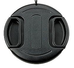 JJC LC-95 Universal 95mm Lens Cap for Nikon Canon Camera Black