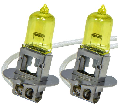H3 100W x2 pcs Fog Light Xenon HID Yellow Direct Replacement Bulbs Free Ship (Toyota Corolla 2002 Fog Lights compare prices)