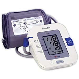 Omron HEM-711AC Automatic Blood Pressure Monitor with Standard Cuff
