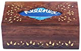 Prime Offer on Tissue Box - SouvNear 10x6 Inches Olde Worlde Wood Tissue Box Holder - Handmade Brown Rectangular Tissue Box Cover / Dispenser - Perfect for Kleenex 160 count 2-ply Boxes