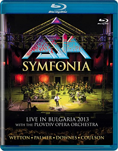 Blu-ray : Asia - Symfonia: Live In Bulgaria 2013 (Blu-ray)
