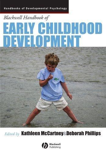 Blackwell Handbook Of Early Childhood Development front-1003947