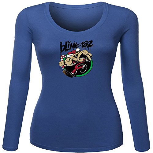 Classic Blink 182 For Ladies Womens Long Sleeves Outlet