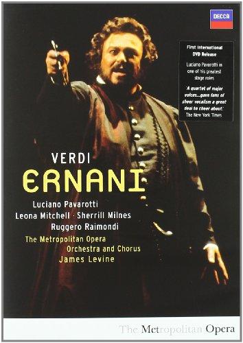 Ernani (Pavarotti) Dir. James Levine - Verdi - DVD