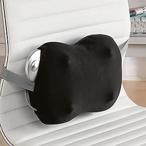 Amazon Com Brookstone Ineed Lumbar Massage Pillow W Case