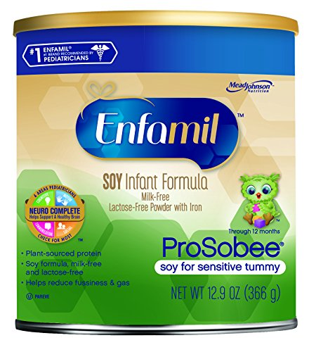 Enfamil ProSobee Soy Infant Formula, 12.9 Oz (Packaging May Vary)