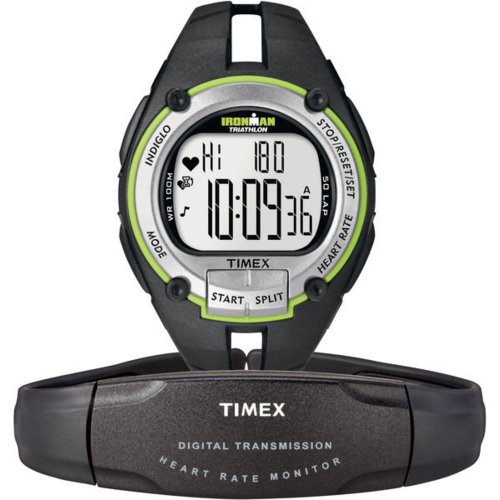 Cheap Timex Full-Size T5K348 Ironman Road Trainer Heart Rate Monitor Watch (T5K348)