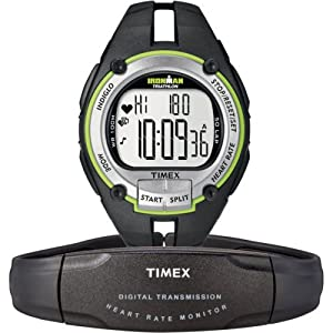 Timex Full-Size T5K348 Ironman Road Trainer Heart Rate Monitor Watch