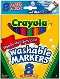 Crayola Classic Washable Marker Set 58-7808