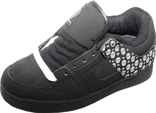 Osiris Skate Shoes Tron Kids Black/Maxx/ Skull, shoe size:33