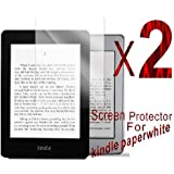 2 X Anti scratch clear finishing screen protector for kindle paperwhite