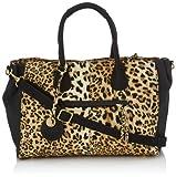 Friis & Company Leo Olive Handbag Handtasche, Sac port main - Multicolore (92 Leopard)