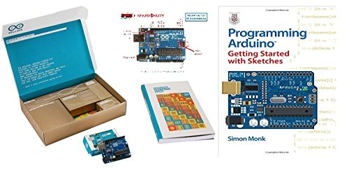 The Official Starter Kit For Arduino Uno R3 Advanced Arduino Kit with Programming Arduino Getting Started with Sketches By Simon Monk (Motorized Oil Lamps compare prices)
