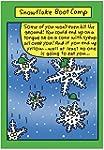CAB1573 Snowflake Boot Camp Christmas...