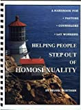 img - for Helping people step out of homosexuality book / textbook / text book