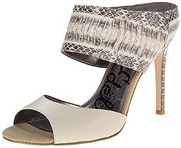 Sam Edelman Women\'s Scotti Dress Sandal, Modern Ivory, 6.5 M US