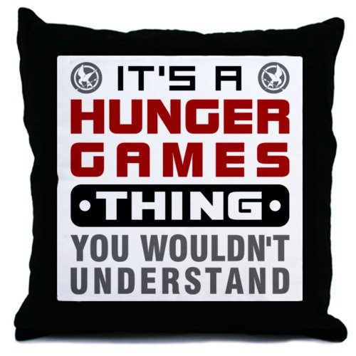 Hunger Games Thing Throw Pillow by CafePress