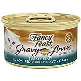 Cat Supplies Fancy Feast Gravy Lovers Turkey