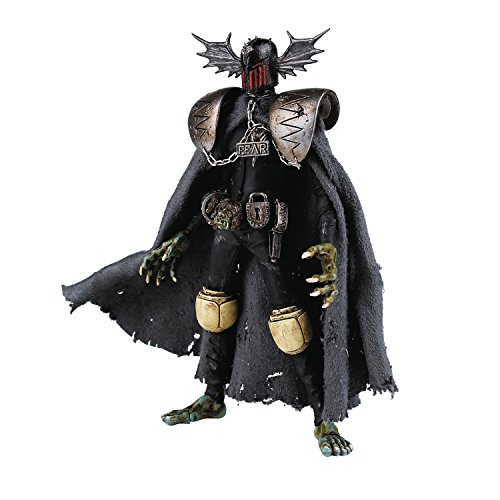 Three A 2000 A.D. Judge Fear Action Figure (1:12 Scale)