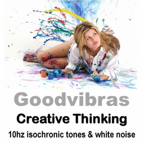 Creative Thinking Development (10hz Isochronic Tones & White Noise)
