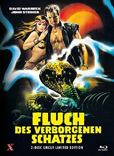 Fluch des verborgenen Schatzes - Uncut [Blu-ray] [Limited Edition]