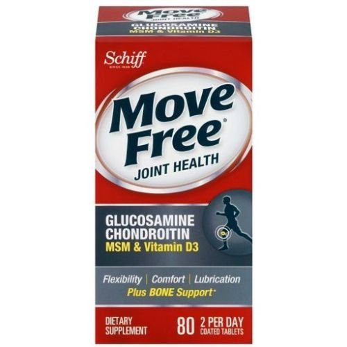 Move Free Advanced Glucosamine Chondroitin Msm And Vitamin D3, 80 Count