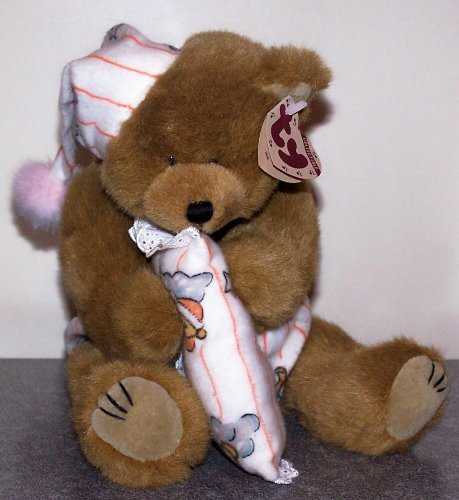 "1 X TY Attic Treasure - PRECIOUS the Bear (large approx. 10"")"