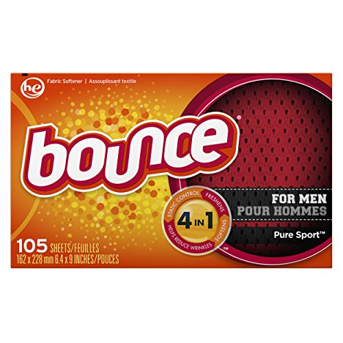 Bounce Pure Sport Dryer Sheets For Men 105 Count (Bounce For Dryer compare prices)