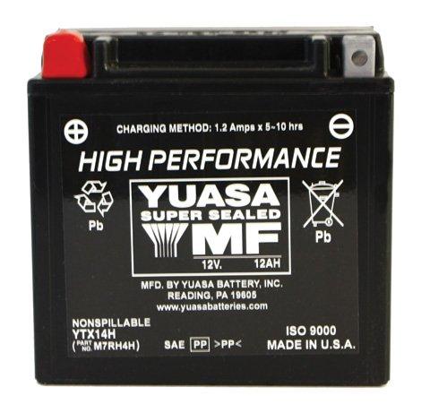 Yuasa YUAM7RH4H YTX14H Battery