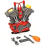 Toys Bhoomi Build Your Own Motorcycle Engine Overhaul Set With Lights & Sound Mechanics Construction Toy Modification... - B06XVD68DW