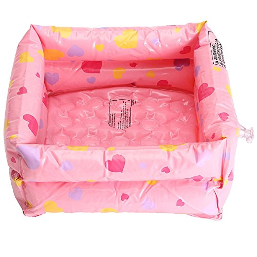 KINGSO Folding Inflatable Portable Travel Spa Foot Care Relax Bath Basin 11.81x11.81x4.72 inch (Inflatable Feet compare prices)