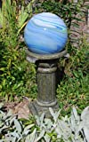 Echo Valley 9181 Florentine Resin Pedestal Column for Gazing Globe or Sundial